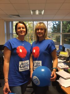 Lynne and Zena will be running the 2017 marathon for the BLF team Breathe