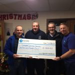 Healthcare Technicians charity donation picture